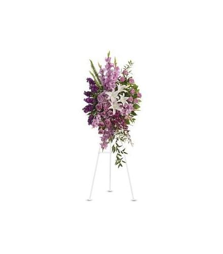 Photo of flowers: Sacred Garden Easel Spray