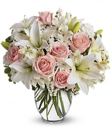 Photo of flowers: Arrive In Style with Vase
