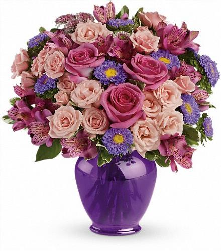 Photo of flowers: Purple Medley