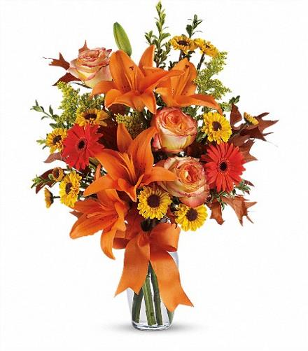 Photo of flowers: Burst of Autumn Vase TFL02-2