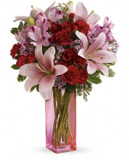 Photo of Hold Me Close Vase Bouquet - TEV22-1
