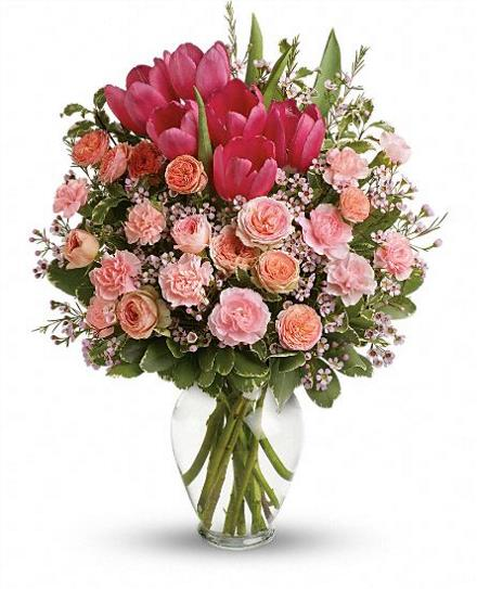 Photo of flowers: Full Of Love Vase