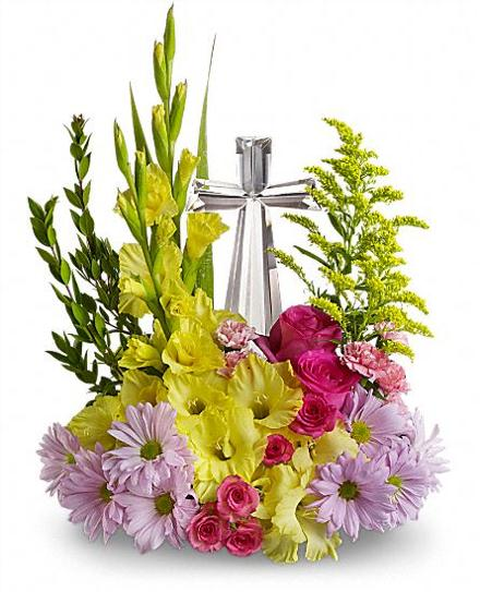 Photo of flowers: Crystal Cross Bouquet