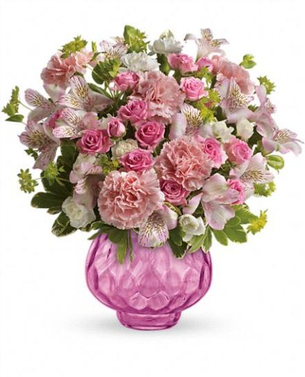 Photo of flowers: Simply Pink Bouquet