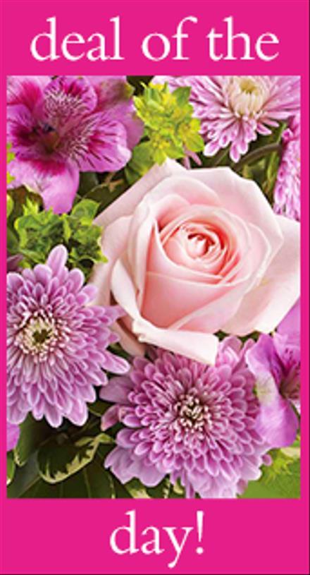 Photo of flowers: Unique Pastel Flower Arrangement