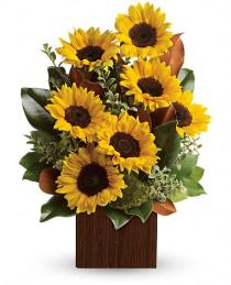 Photo of You're Golden Bouquet by Teleflora - TEV32-1