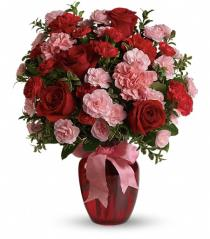 Photo of Dance with Me Bouquet with Red Roses - TEV12-5