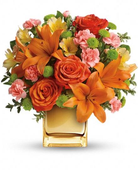 Photo of flowers: Tropical Punch Bouquet