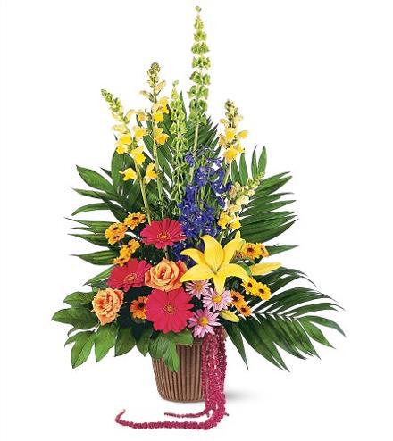 Photo of flowers: Celebration of Life Arrangement