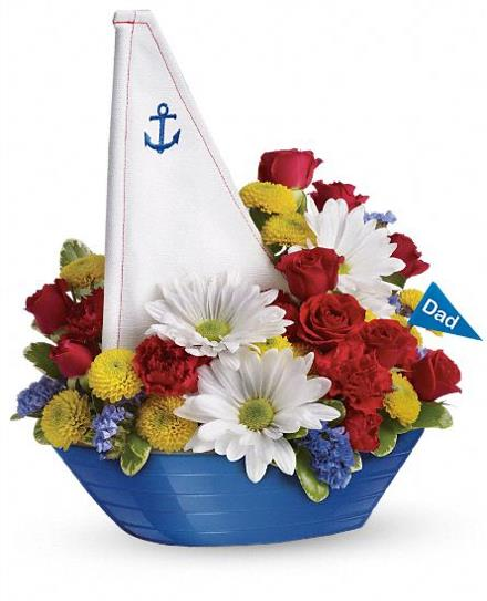 Photo of flowers: Anchors Aweigh Bouquet
