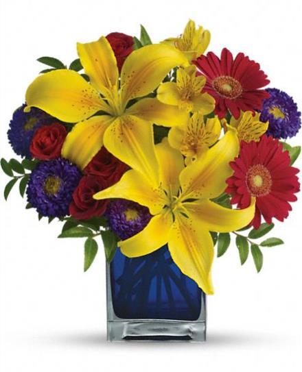 Photo of flowers: Blue Caribbean