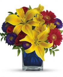 Photo of Teleflora's Blue Caribbean - T05N440