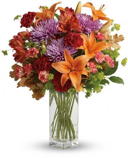 Photo of flowers: Fall Brights Bouquet