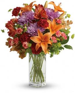 Photo of Fall Brights Bouquet - TFL06-2