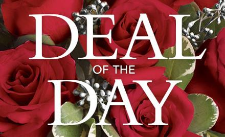 Photo of flowers: Deal of the Day Includes Red Rose(s)