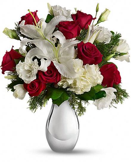 Photo of flowers: Silver Noel Bouquet T406-1