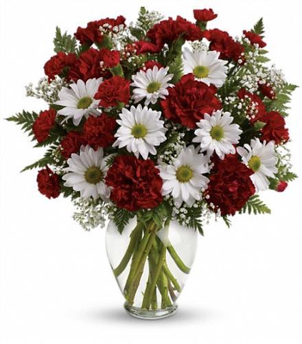 Photo of flowers: Kindest Heart Vase Bouquet