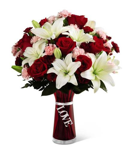 Photo of flowers: Expressions of Love  Keepsake Vase