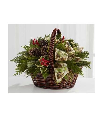 Photo of flowers: The FTD Christmas Coziness Bouquet