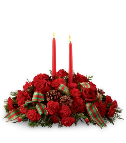 Photo of flowers: Holiday Classics - Christmas Centerpiece