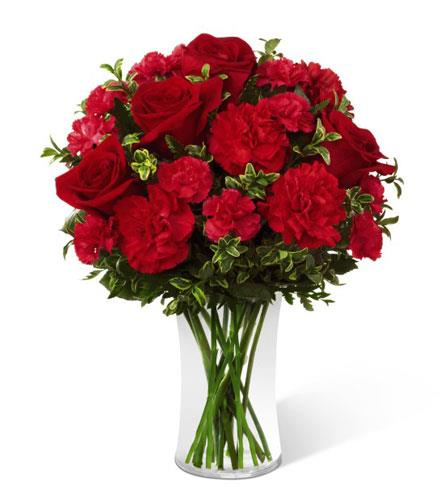 Photo of flowers: The FTD Always True Rose Bouquet