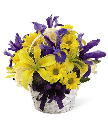 Photo of flowers: Spirit of Spring Basket