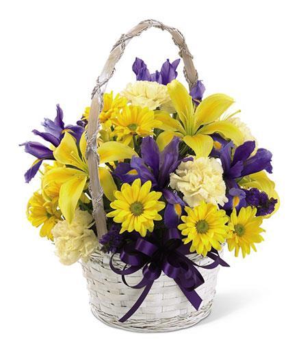 Photo of flowers: Spirit of Spring Basket