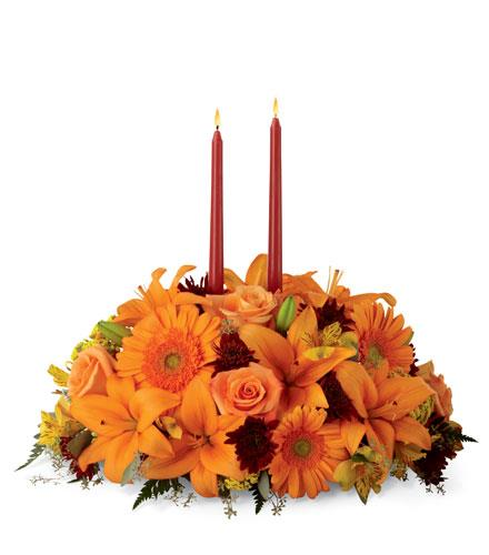 Photo of flowers: Bright Autumn Centerpiece FTD