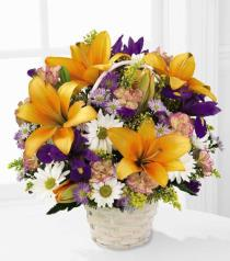 Photo of flowers: Natural Wonders Flower Basket