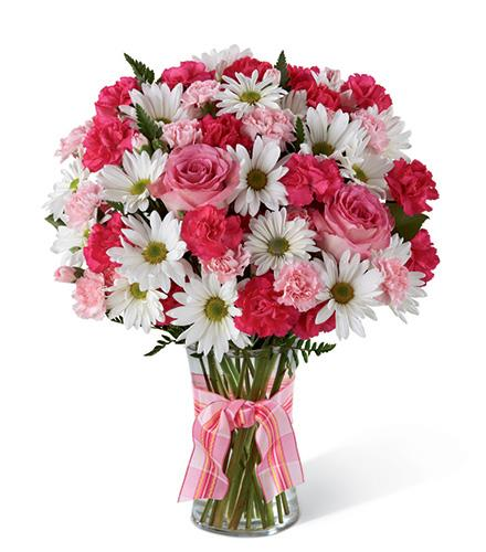 Photo of flowers: Sweet Surprises Bouquet in Vase