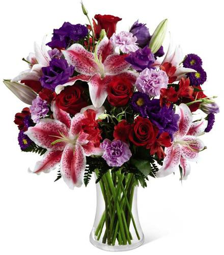 Photo of flowers: Stunning Beauty Vase Bouquet