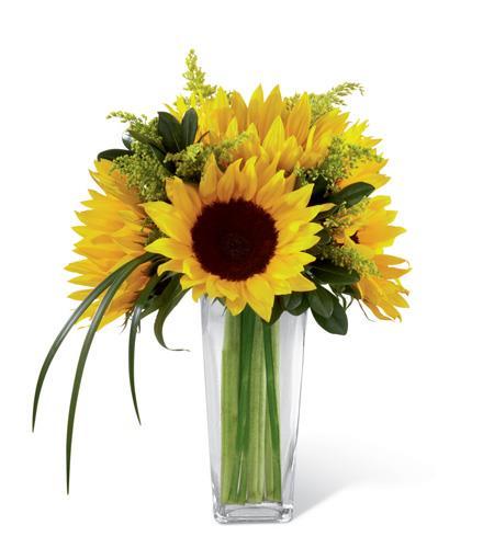 Photo of flowers: Sunshine Daydream Sunflower Bouquet