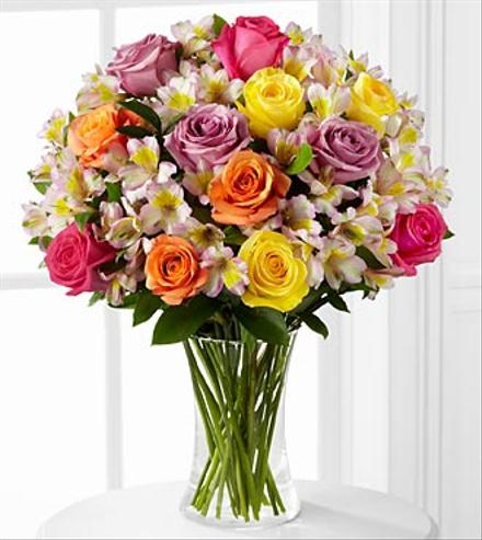 Photo of flowers: Colorful Connection Bouquet