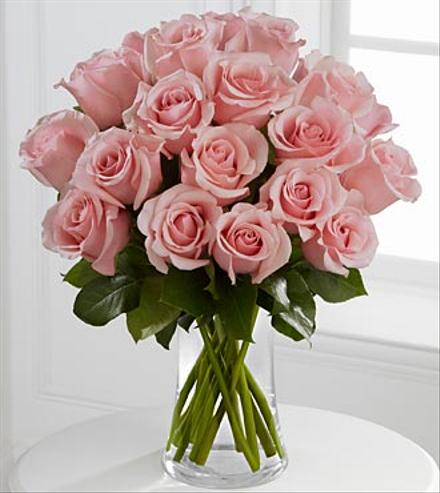 Photo of flowers: Perfectly Pink Rose Bouquet