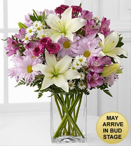 Photo of flowers: Lavender Fields Mixed Bouquet in Vase