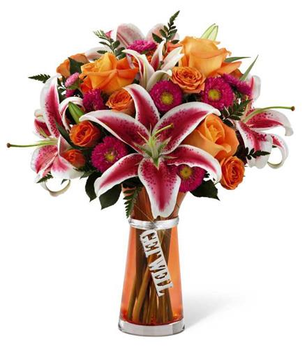 Photo of flowers: Get Well Bouquet with Vase