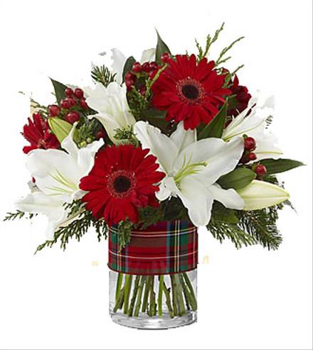 Photo of flowers: The FTD Christmas Kindness Bouquet by Better Homes and Gardens