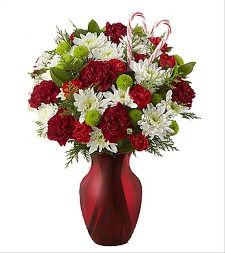 Photo of flowers: Heart of the Holidays Vase