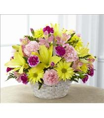 Photo of The FTD Basket of Cheer Bouquet - C13-4840