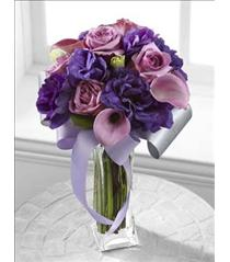 Photo of Shades of Purple Bouquet - C17-4861