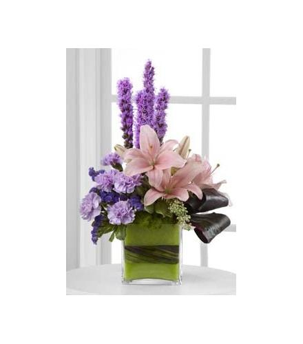 Photo of flowers: The Cosmopolitan Arrangement