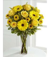 Photo of Daylight Yellow Bouquet Vased FTD - C3-4431
