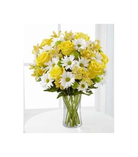 Photo of flowers: Sunny Sentiments in Vase