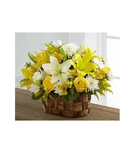 Photo of flowers: Nature's Bounty Basket FTD