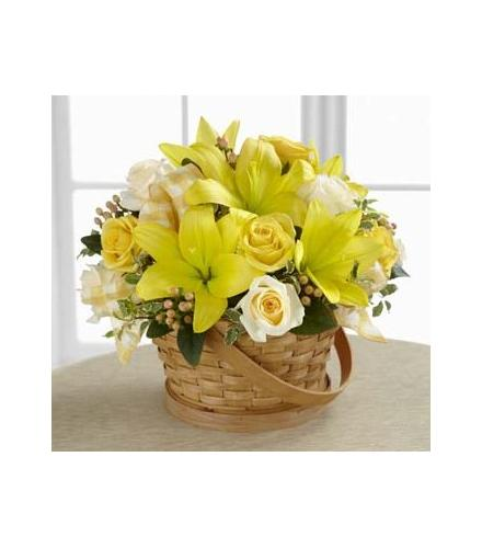 Photo of flowers: Sunny Surprise Basket