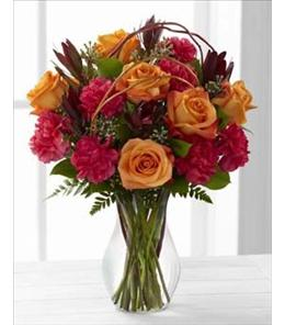 Photo of Happiness Bouquet with Vase by FTD - C7-4843