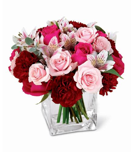 Photo of flowers: Gentle Caresses in Vase
