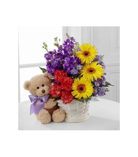 Photo of flowers: The FTD Best Year Basket
