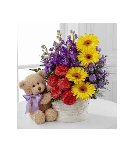 Photo of flowers: The  Best Year Basket