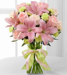 Photo of Girl Power Bouquet in Vase - D7-4906